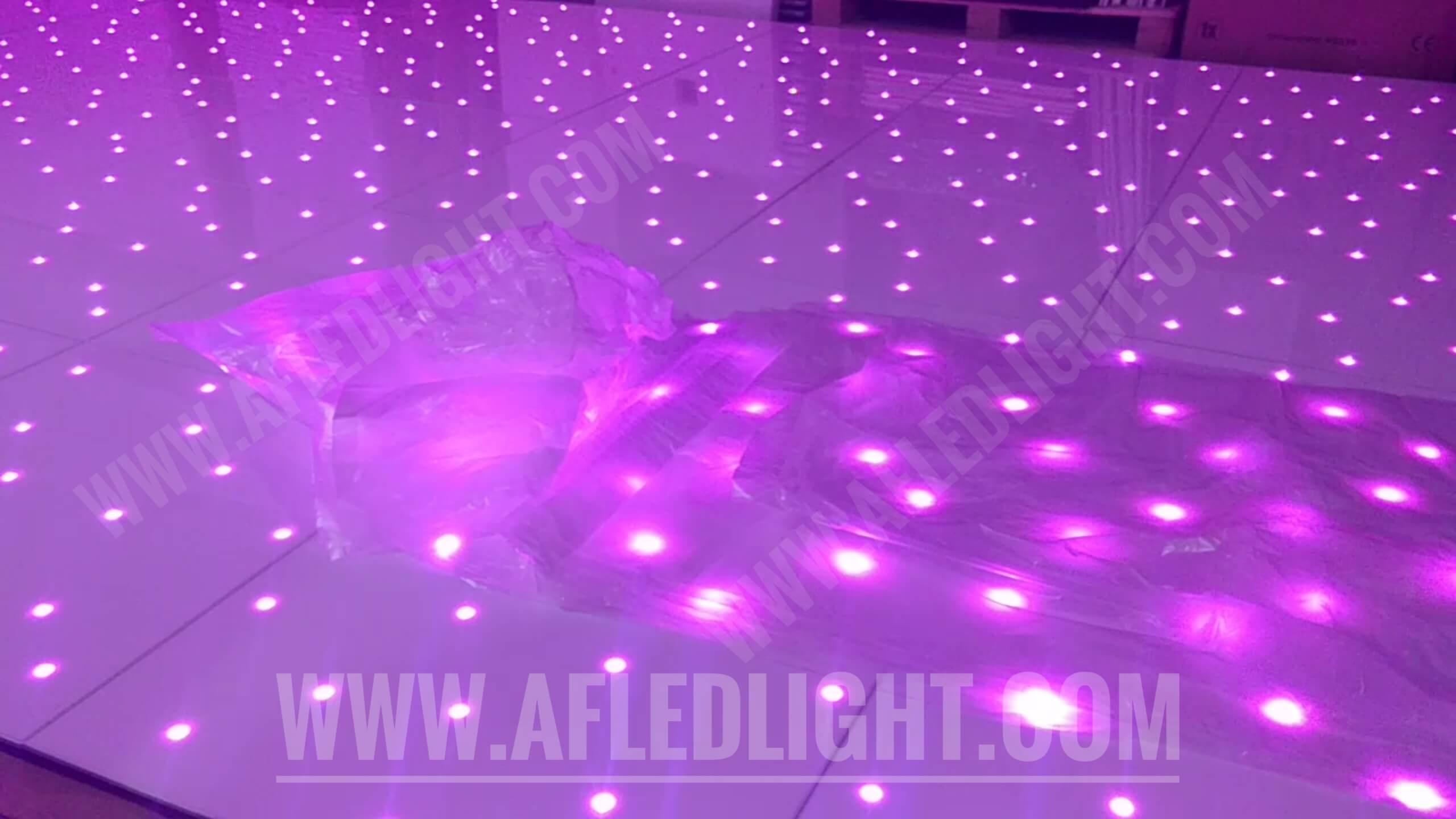 Gold Starlit Dance Floor