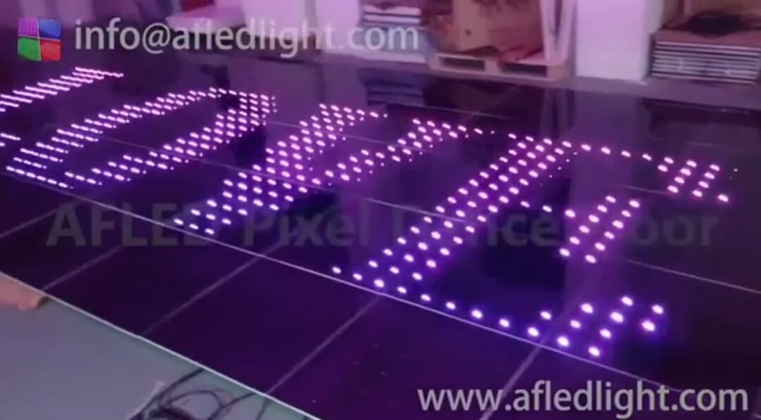Pixel Dance Floor; Wedding dance floor; Video Dance Floor